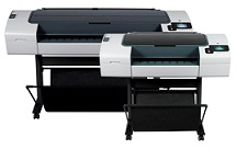 "HP Designjet T790ps ePrinter 44"" (CR650A)"